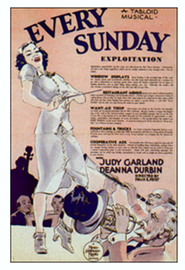 Every Sunday movie in Judy Garland filmography.