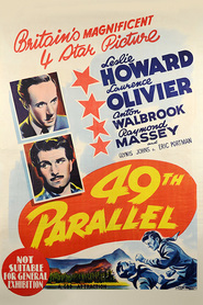 49th Parallel movie in Niall MacGinnis filmography.