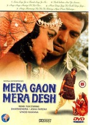 Mera Gaon Mera Desh movie in Dharmendra filmography.