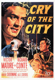 Cry of the City movie in Shelley Winters filmography.
