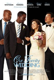 Our Family Wedding movie in Forest Whitaker filmography.