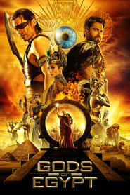 Gods of Egypt movie in Geoffrey Rush filmography.