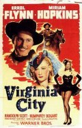 Virginia City movie in Errol Flynn filmography.