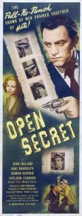 Open Secret movie in John Ireland filmography.