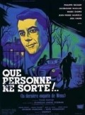 Que personne ne sorte movie in Jean-Pierre Marielle filmography.