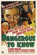 Dangerous to Know movie in Anthony Quinn filmography.