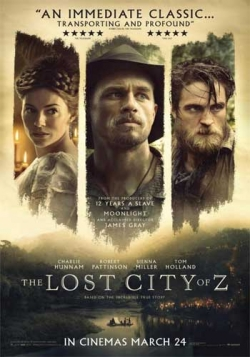The Lost City of Z is the best movie in Charlie Hunnam filmography.