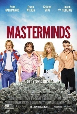 Masterminds movie in Kristen Wiig filmography.