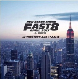 Fast 8 movie in Eva Mendes filmography.