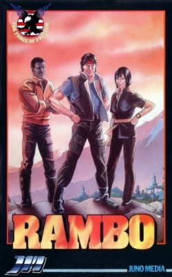 Rambo movie in Frank Welker filmography.