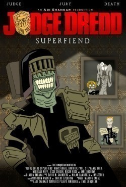 Judge Dredd: Superfiend movie in Michelle Ruff filmography.