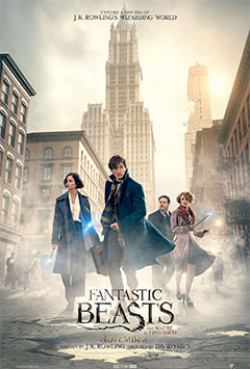 Fantastic Beasts and Where to Find Them movie in David Yates filmography.