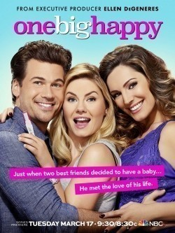 One Big Happy movie in Elisha Cuthbert filmography.