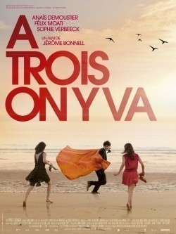 À trois on y va movie in Anais Demoustier filmography.