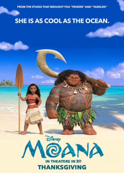 Best animated film Moana images, cast and synopsis.