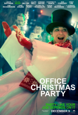Office Christmas Party movie in T.J. Miller filmography.