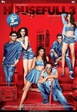 Housefull 3 is the best movie in Jaqueline Fernandes filmography.