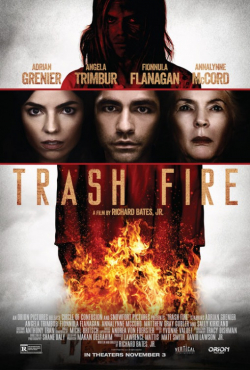 Trash Fire movie in Ezra Buzzington filmography.