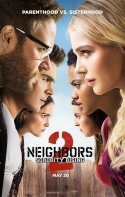 Neighbors 2: Sorority Rising movie in Seth Rogen filmography.