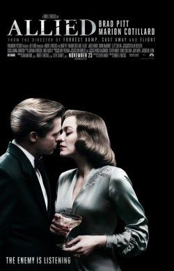 Allied is the best movie in Brad Pitt filmography.