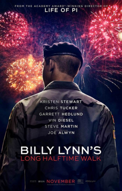 Billy Lynn's Long Halftime Walk movie in Steve Martin filmography.