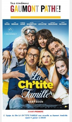 Best movie La ch'tite famille images, cast and synopsis.