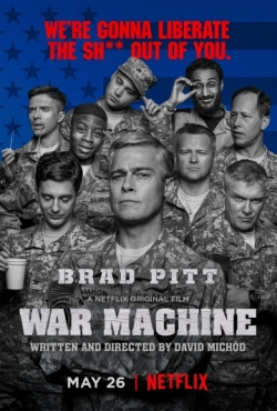 Best movie War Machine images, cast and synopsis.
