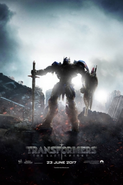 Transformers: The Last Knight movie in Michael Bay filmography.