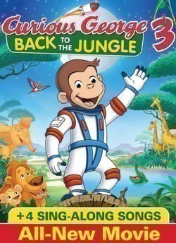 Curious George 3: Back to the Jungle movie in Frank Welker filmography.