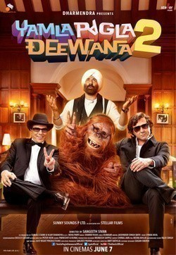Yamla Pagla Deewana 2 movie in Dharmendra filmography.