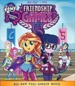 My Little Pony: Equestria Girls - Friendship Games is the best movie in Ashleigh Ball filmography.