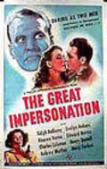 The Great Impersonation movie in Rex Evans filmography.