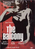 The Balcony movie in Shelley Winters filmography.